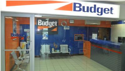 Budget Rent a Car Jamaica office.