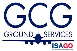 GCG Ground Services logo.