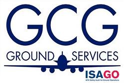 GCG Ground Services logo.