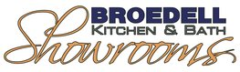 Broedell Kitchen & Bath Showrooms logo.