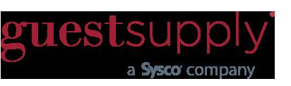 guest supply, a Sysco company logo.