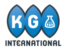 KG International logo.