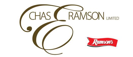 Chas E Ramson logo.