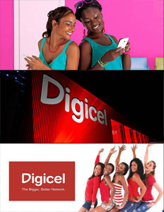 Digicel brochure cover.