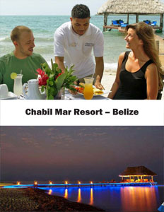 Chabil Mar Resort brochure cover.