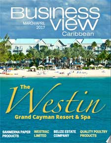 March 2017 Issue Cover of Business View Caribbean.