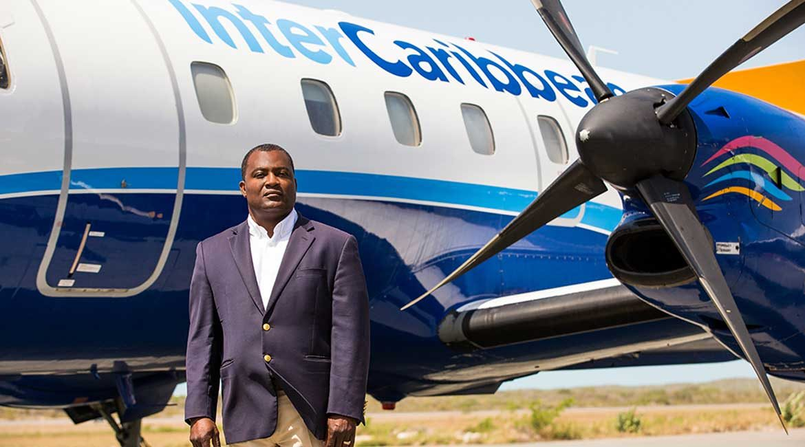Lyndon R. Gardiner , founder of interCaribbean Airways