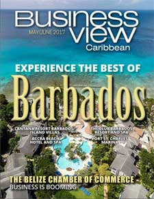 May 2017 Issue cover Business View Caribbean.
