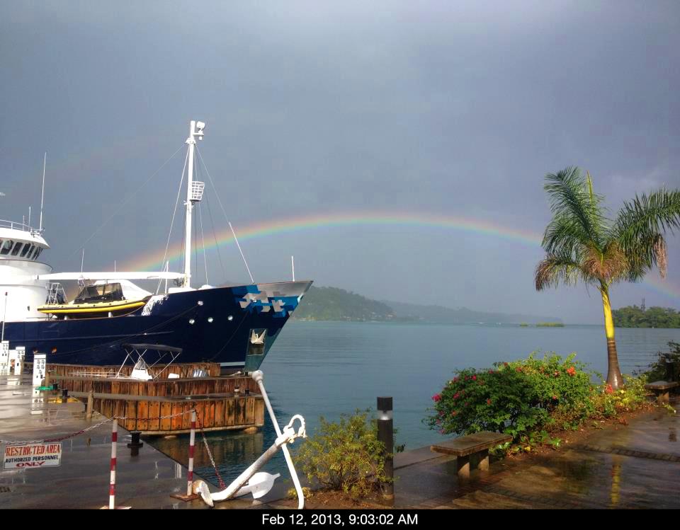 Errol Flynn Marina & Boat Yard - The Other Side of Jamaica