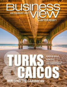 Business View Caribbean July 2017 issue cover.