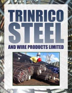 Trinrico Steel brochure cover.