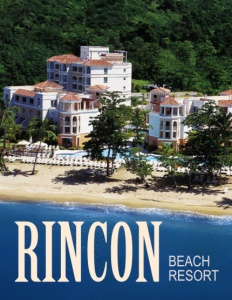 Rincon Beach Resort brochure cover.