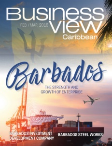 February 2018 Issue cover Business View Caribbean.