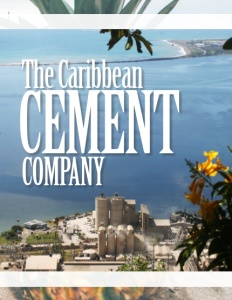 The Caribbean Cement Company brochure cover.