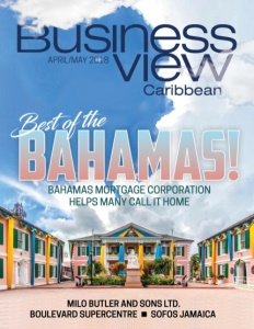 Business View Caribbean April 2018 issue cover.