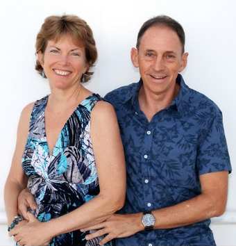 Sue and Chris Trew of Best of Barbados Gift Shops.