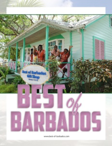 Best of Barbados Gift Shops brochure cover.
