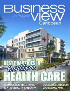January 2018 Issue cover Business View Caribbean.