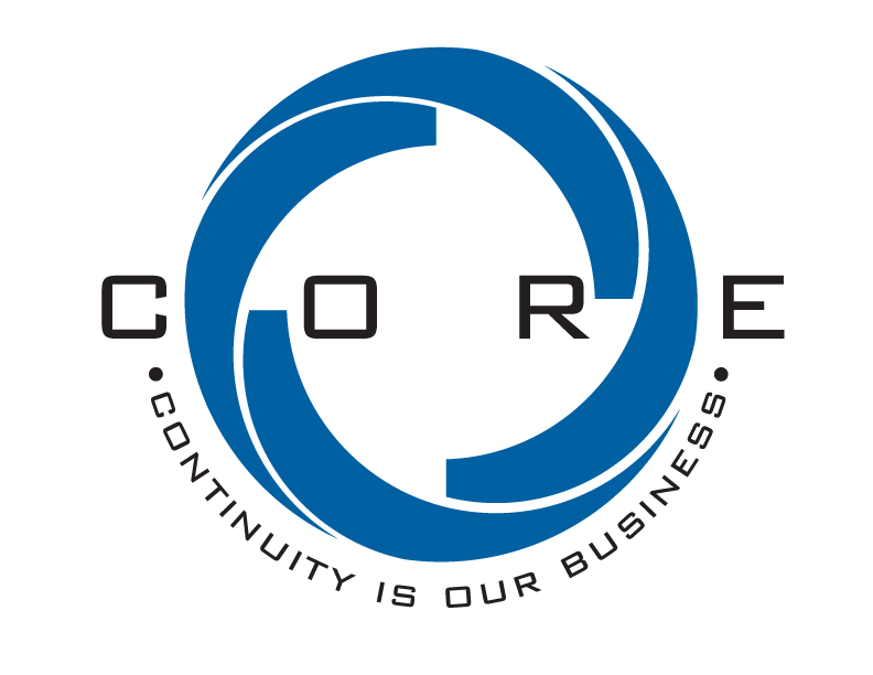 CORE logo with tagline Continuity Is Our Business.