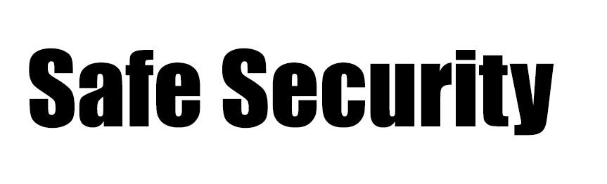 Safe Security logo.
