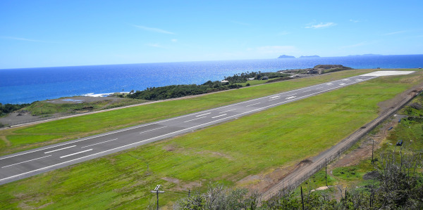 Argyle International Airport, airstrip 1.