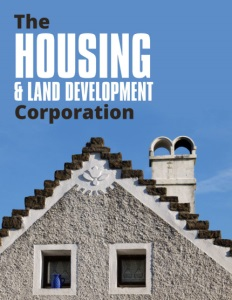The Housing & LAnd Development Corporation brochure cover.