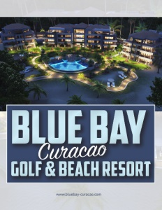 Blue Bay Curacao Golf & Beach Resort brochure cover.