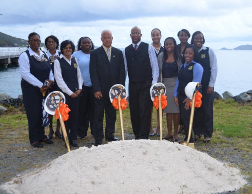 British Virgin Islands Ports Authority, ground breaking ceremony.