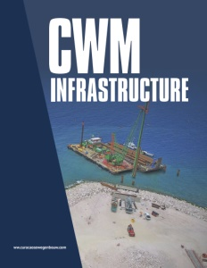 CWM Infrastructure brochure cover.