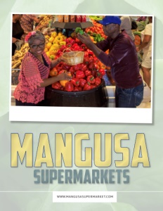 Mangusa Supermarkets Brochure Cover