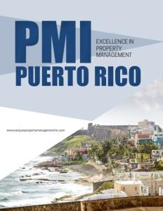 PMI Puerto Rico brochure cover.