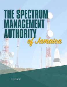 The Spectrum Management Authority of Jamaica brochure cover.