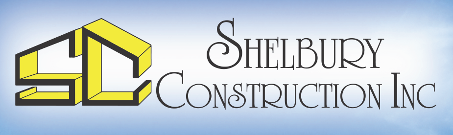 Shelbury Construction Inc logo.