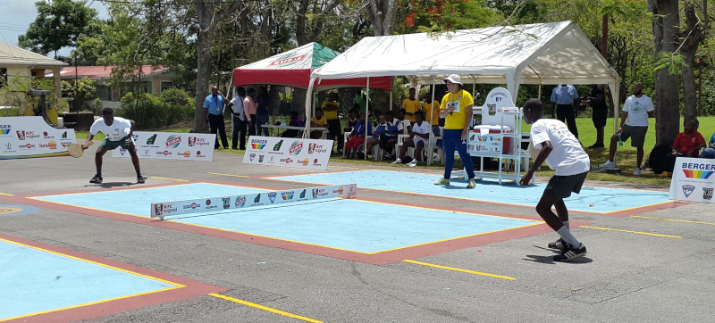 Berger Paints Barbados Limited, road tennis under 19.