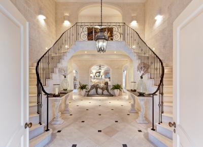 GSA Architecture & Interior Design example of work; Windward Foyer.