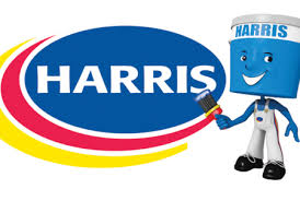 Harris Paints Barbados logo.