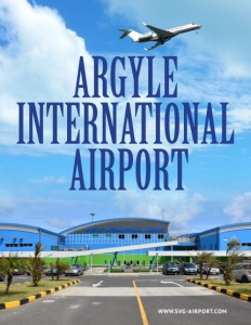 Argyle International Airport brochure cover.