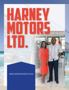 Harney Motors Ltd. brochure cover.