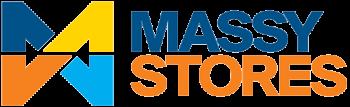 Massy Stores logo.