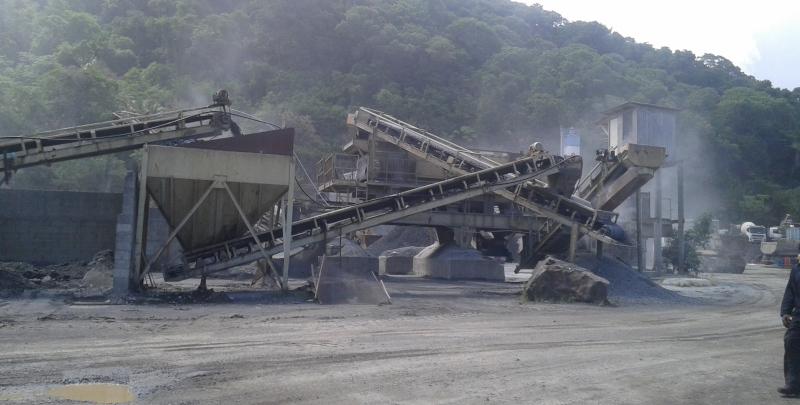 Wilrock Ltd stone crusher.