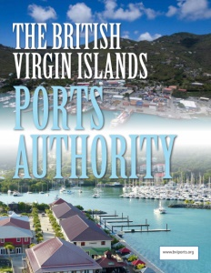 The British Virgin Islands Ports Authority brochure cover.