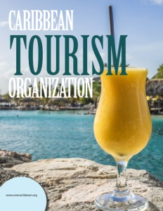 Caribbean Tourism Organization brochure cover.