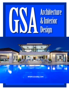 GSA Architecture & Interior Design brochure cover.