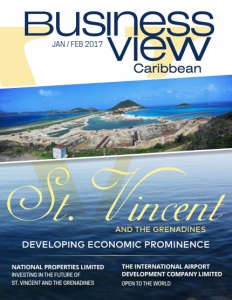 January 2017 Issue cover Business View Caribbean.