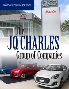 The JQ Charles Group of Companies brochure cover.