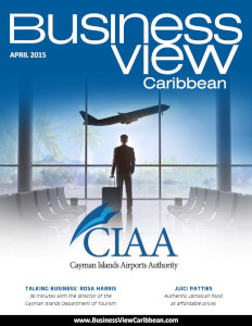 March 2015 Issue cover of Business View Caribbean.