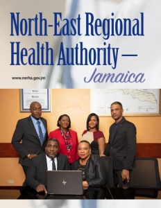 North-East Regional Health Authority brochure cover.