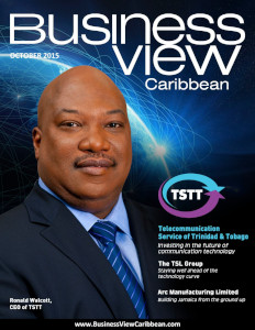 October 2015 Issue cover Business View Caribbean.