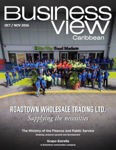 October 2016 Issue cover Business View Caribbean.