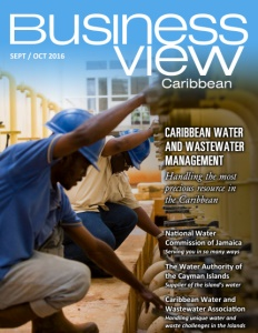 September 2016 Issue cover of Business View Caribbean.